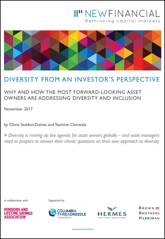 Cover: Diversity from an Investor's perspective