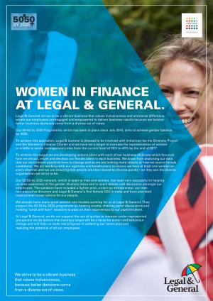 Women in Finance cover